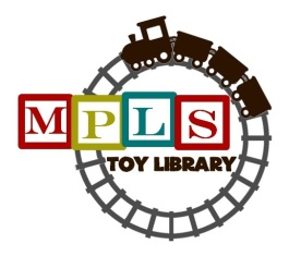 toy lib logo train